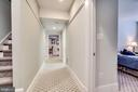 Lower Level Hallway with bedroom on right - 2007 N POLLARD ST, ARLINGTON