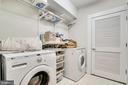 Laundry area in it's own room on lower level - 2007 N POLLARD ST, ARLINGTON