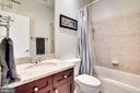 Upper Level Hall Bathroom - 2007 N POLLARD ST, ARLINGTON