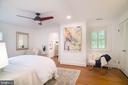 Large master bedroom - 3631 VAN NESS ST NW, WASHINGTON