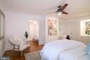 Master bedroom with dressing room - 3631 VAN NESS ST NW, WASHINGTON