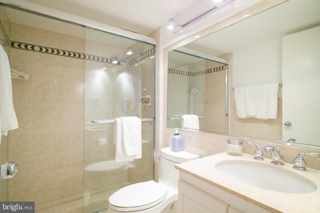 Full bathroom on lower level - 3631 VAN NESS ST NW, WASHINGTON