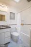Second full bathroom - 3631 VAN NESS ST NW, WASHINGTON