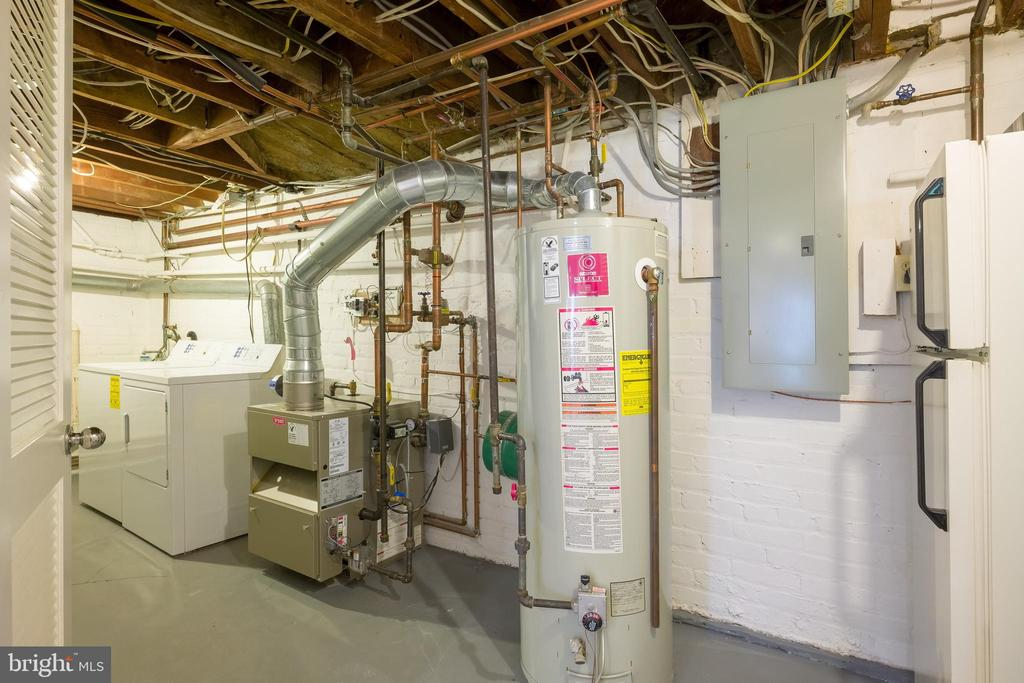 Water heater and extra refridgerator - 3631 VAN NESS ST NW, WASHINGTON