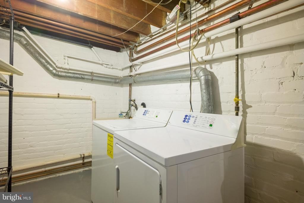 Washer and dryer on lower level - 3631 VAN NESS ST NW, WASHINGTON