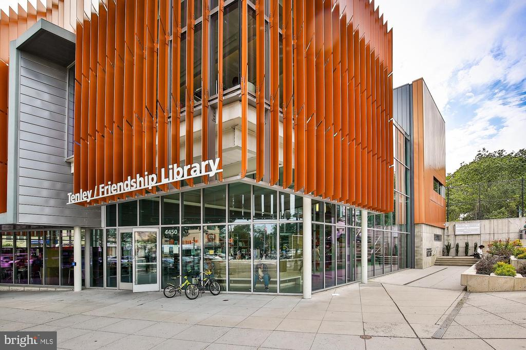 Tenleytown/Friendship Library - 3631 VAN NESS ST NW, WASHINGTON