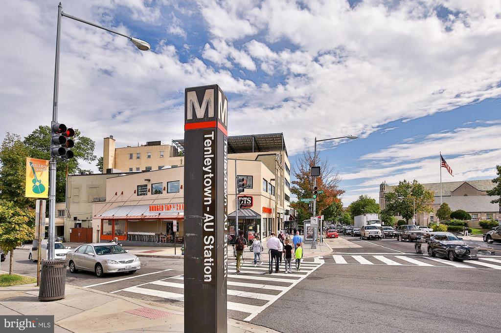 Tenleytown-AU metro - 3631 VAN NESS ST NW, WASHINGTON