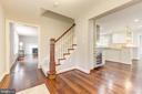 Open the door and step onto beautiful hardwoods. - 3856 N RIXEY ST, ARLINGTON