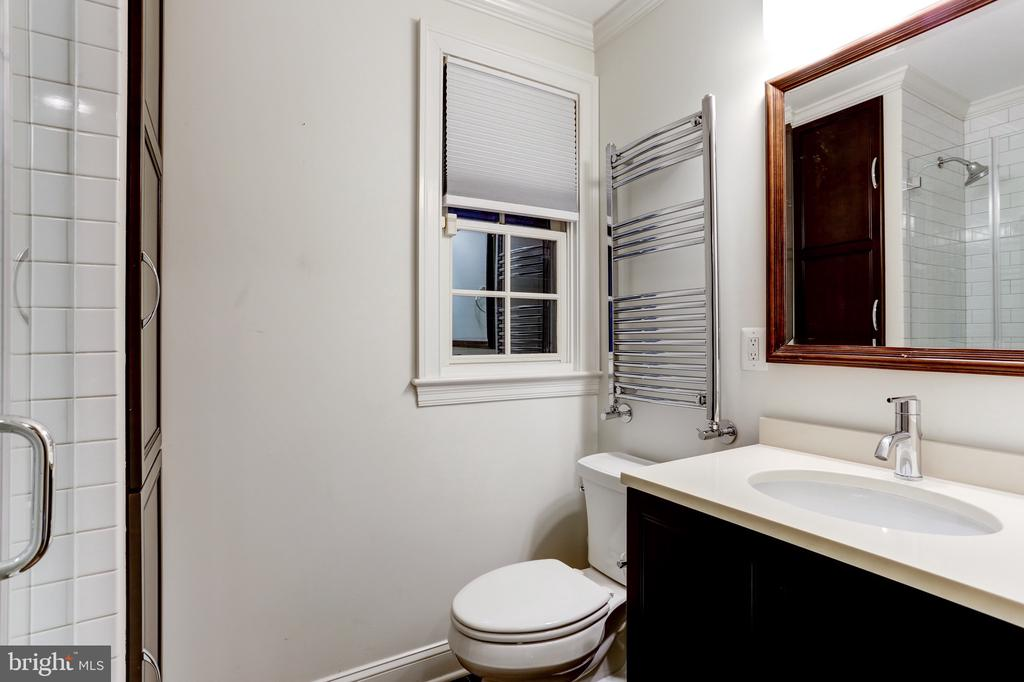 Refreshed bathroom - 4700 RESERVOIR RD NW, WASHINGTON