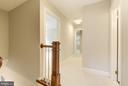 Up ctr stairs to landing and hall~viewed from MBR - 3856 N RIXEY ST, ARLINGTON