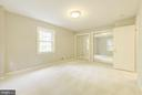 Bedroom 2 with all new carpet and double closets - 3856 N RIXEY ST, ARLINGTON