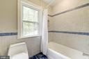 Shower/Tub combo in upper level hall bath - 3856 N RIXEY ST, ARLINGTON