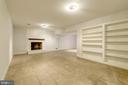 Built-in bookshelves for display~bring pool table! - 3856 N RIXEY ST, ARLINGTON