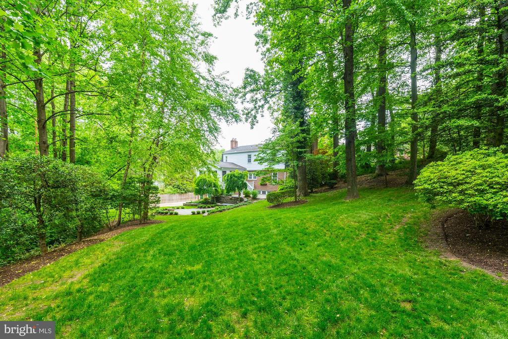 View from back/side yard towards back of your home - 3856 N RIXEY ST, ARLINGTON