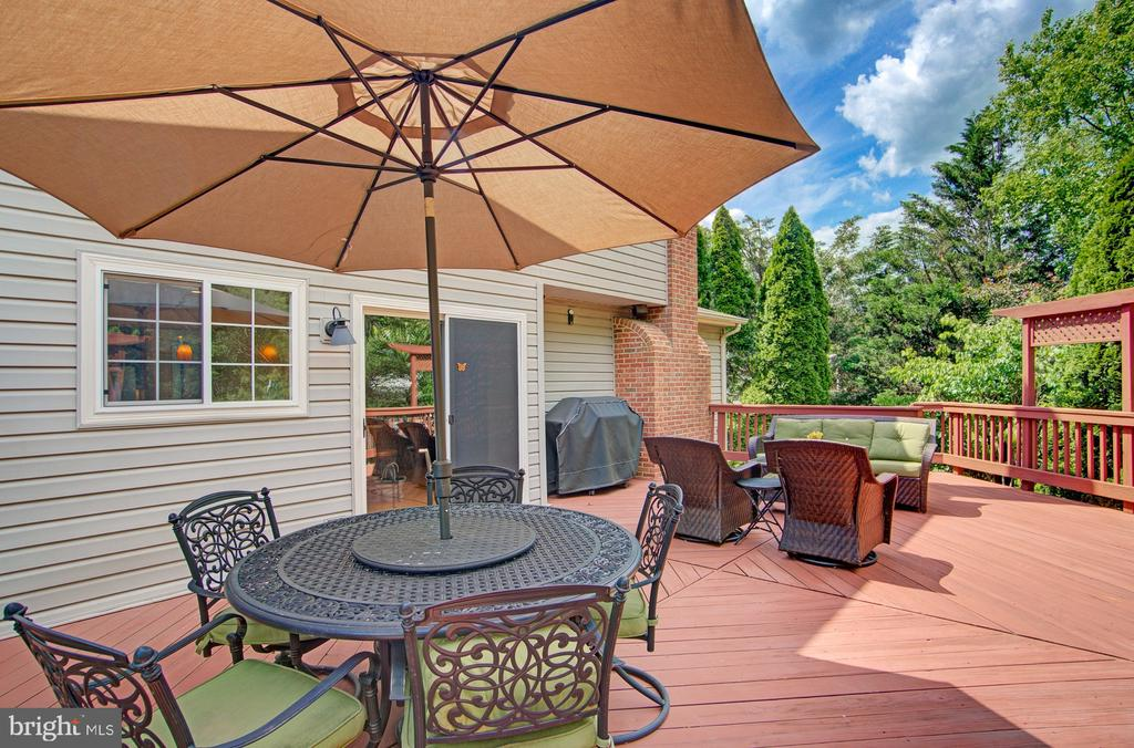 Imagine the Memories You Will Make on This Deck - 43092 STONECOTTAGE PL, ASHBURN