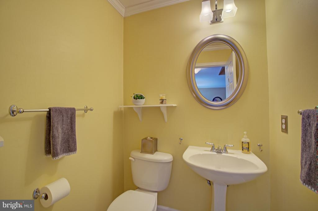 1/2 Bath on the Main Level - 43092 STONECOTTAGE PL, ASHBURN