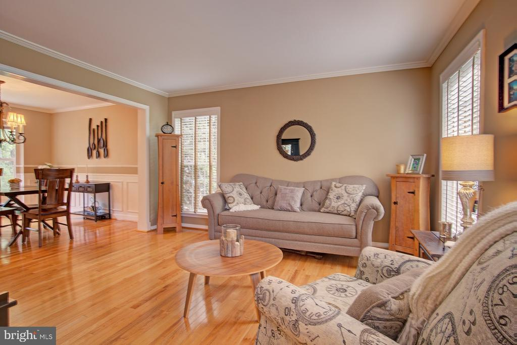 Beautiful Light Filled Living Room - 43092 STONECOTTAGE PL, ASHBURN