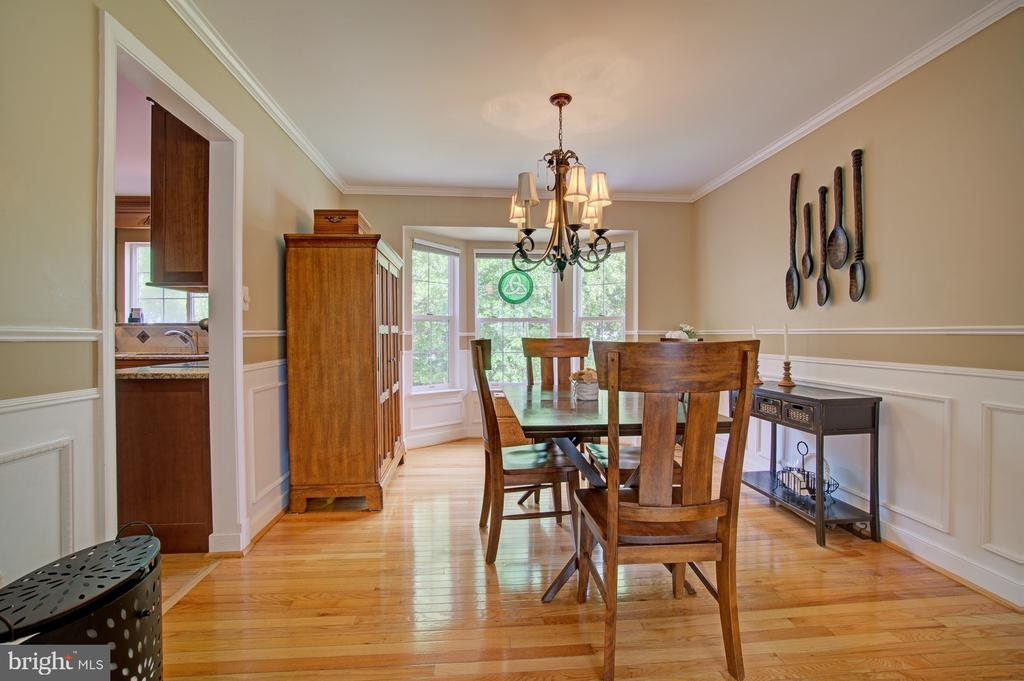 Lovely Dining Room with Easy Access to Kitchen - 43092 STONECOTTAGE PL, ASHBURN
