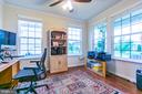 Formal living room, currently used as an office - 24496 LENAH TRAILS PL, ALDIE
