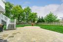 Huge custom patio installed 2017 - 24496 LENAH TRAILS PL, ALDIE