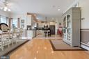 Gleaming hardwood floors and open floorplan - 814 ASHBY STATION RD, FRONT ROYAL