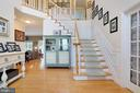 Gorgeous stairway - 814 ASHBY STATION RD, FRONT ROYAL