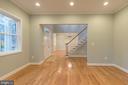Formal Living Room - 8317 ROLLING RD, SPRINGFIELD