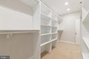 Master Suite Walk in Closet - 8317 ROLLING RD, SPRINGFIELD