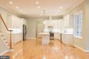 Gourmet Kitchen - 8317 ROLLING RD, SPRINGFIELD