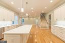 All wood cabinetry - 8317 ROLLING RD, SPRINGFIELD