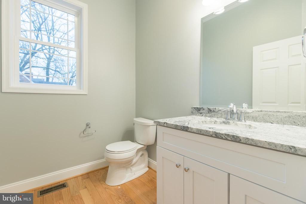 Half Bathroom - 8317 ROLLING RD, SPRINGFIELD