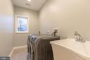 Laundry Room on Upper Level - 8317 ROLLING RD, SPRINGFIELD