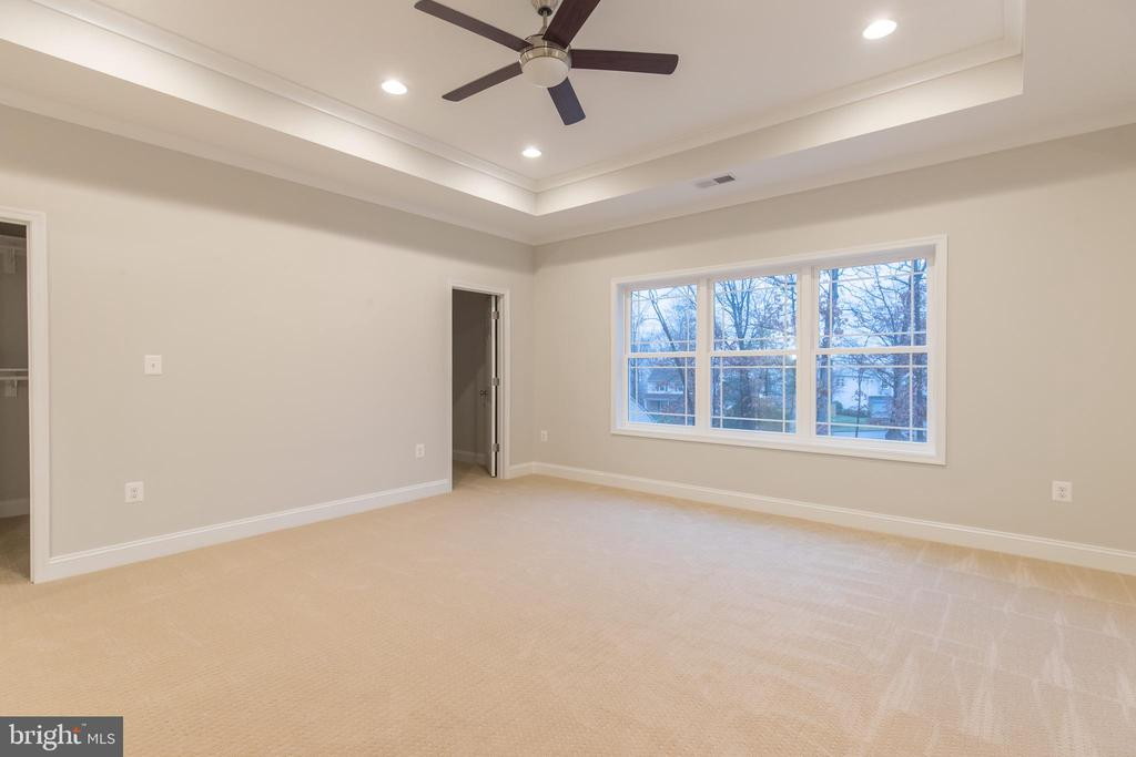 Master Suite with beautiful views to rear yard - 8317 ROLLING RD, SPRINGFIELD