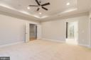 Master Suite High Ceiling and Recessed Lights - 8317 ROLLING RD, SPRINGFIELD