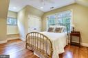 Bedrooms w/ wood floors & ensuite baths - 2326 VERMONT ST N, ARLINGTON