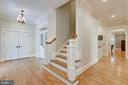 Extra wide hallways, solid crafted woodwork - 2326 VERMONT ST N, ARLINGTON