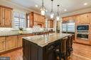 Gourmet kitchen with two tone cabinetry - 2326 VERMONT ST N, ARLINGTON
