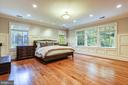 Exquisite moldings & amazing views- Master Suite - 2326 VERMONT ST N, ARLINGTON