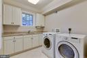 Upper level laundry room w/ granite storage cabs. - 2326 VERMONT ST N, ARLINGTON