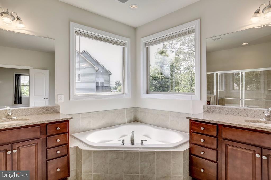 Master Bath w/Soaking Tub and Double Sinks - 43800 GRANTNER PL, ASHBURN