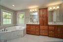 Recently upgraded and lovely Master Bath - 1590 MONTMORENCY DR, VIENNA
