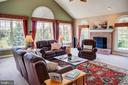 Cozy up to the wood burning fireplace. - 41045 STUMPTOWN RD, WATERFORD