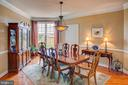 Spacious light filled dining room. - 41045 STUMPTOWN RD, WATERFORD