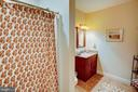 Lower level full bath. - 41045 STUMPTOWN RD, WATERFORD
