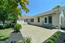 Large rear patio - 20257 REDROSE DR, STERLING