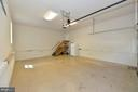 Garage with openers - 20257 REDROSE DR, STERLING