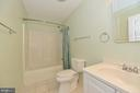 Hall bath with ceramic - 20257 REDROSE DR, STERLING