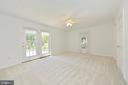 Master bedroom with atrium doors to patio - 20257 REDROSE DR, STERLING