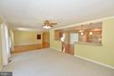 Family room open to kitchen - 20257 REDROSE DR, STERLING