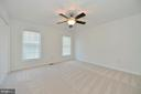 Bright bedroom 3 with ceiling fan and new carpet - 20257 REDROSE DR, STERLING